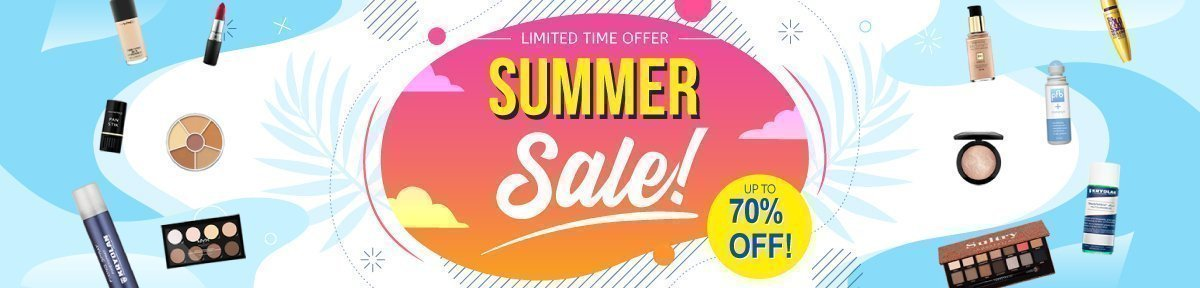 Summer Sale Up To 70% Off!